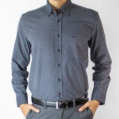 Camisa Villela Estampada Regular Fit