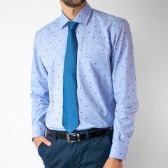 Camisa Fantasia Jaquard Slim Fit