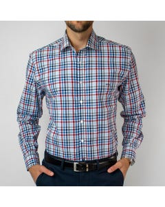 Camisa Trevira Clasica Escoces Regular Fit