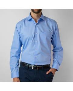 Camisa Cuello Semi Italiano Algodón Easy Iron