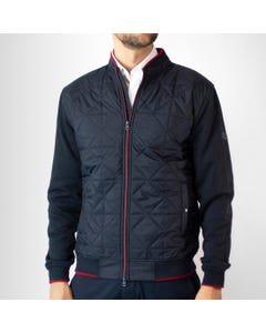 Poleron Full Zipper Frente Acolchado