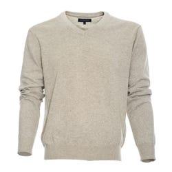Sweater Cuello V Algodón