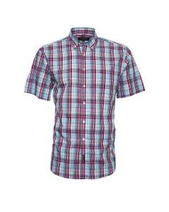 Camisa Manga Corta Escocés