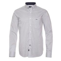 Camisa Casual Comfort Tech Estampada