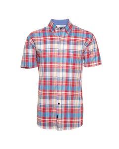 Camisa Manga Corta Casual  Escocesa