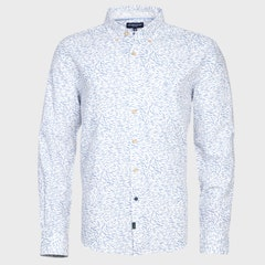 Camisa Lino Estampada ML