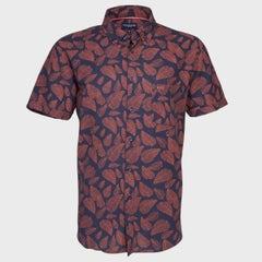 Camisa Lino Estampada MC